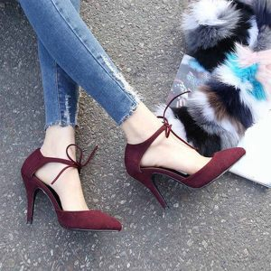 2015-new-women-elengent-pointed-toe-high-heeled-shoes-spring-autumn-suede-lace-up-party-pumps